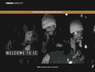 ironconvict.com screenshot