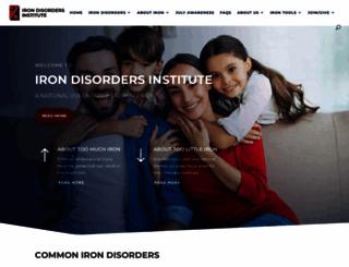 irondisorders.org screenshot