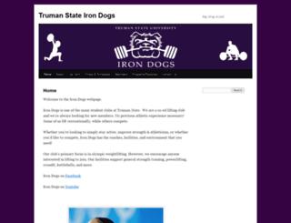 irondogs.truman.edu screenshot