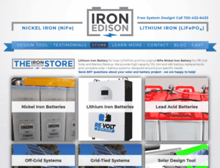 ironedison.com screenshot