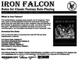 ironfalcon.basicfantasy.org screenshot