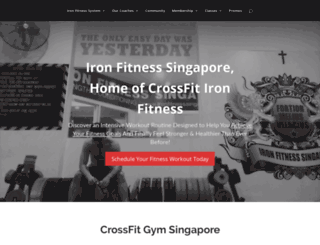 ironfitnesssingapore.com.sg screenshot