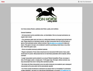 ironhorse.submittable.com screenshot