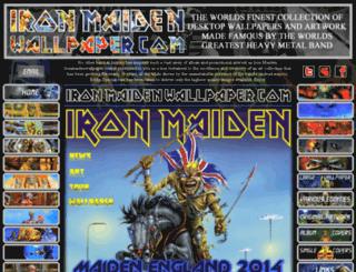 ironmaidenwallpaper.com screenshot