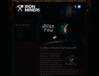 ironminers.com screenshot