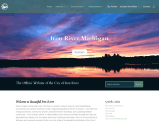 ironriver.org screenshot