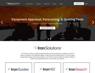 ironsolutions.com screenshot