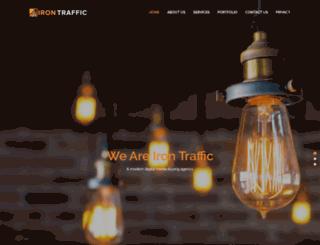 irontraffic.com screenshot