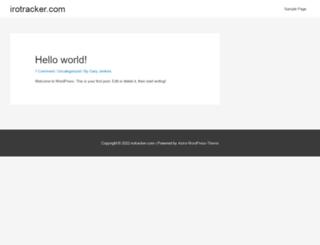 irotracker.com screenshot