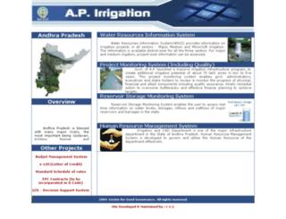 irrigation.cgg.gov.in screenshot