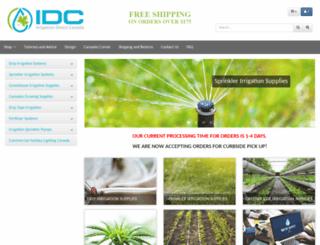 irrigationdirect.ca screenshot