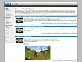 irrlicht.sourceforge.net screenshot