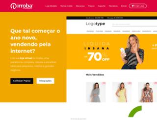 irroba.com.br screenshot