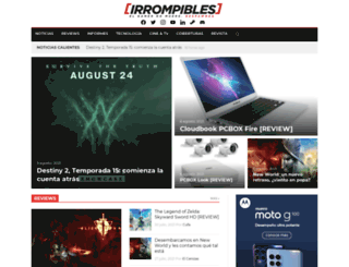 irrompibles.com.ar screenshot