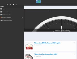 irstaxseason.com screenshot