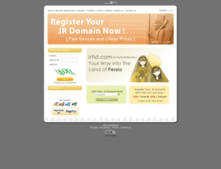 irtld.com screenshot