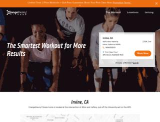 irvine.orangetheoryfitness.com screenshot