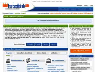 irvineca.global-free-classified-ads.com screenshot