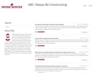 irvinerenter.com screenshot