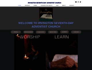irvingtonchurch.org screenshot