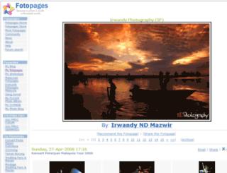 irwandy.fotopages.com screenshot