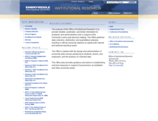 irweb.erau.edu screenshot