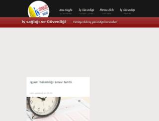 is-guvenligi-kursu.blogspot.com.tr screenshot