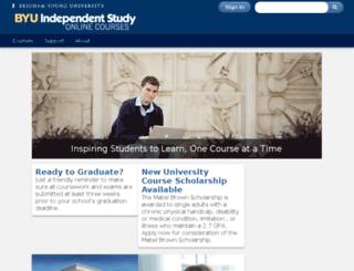 is.byu.edu screenshot