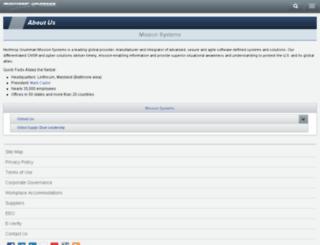 is.northropgrumman.com screenshot