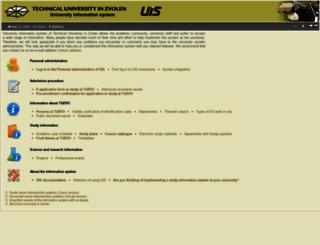 is.tuzvo.sk screenshot