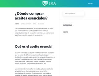 isa.org.mx screenshot