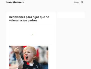 isaacguerrero.com screenshot