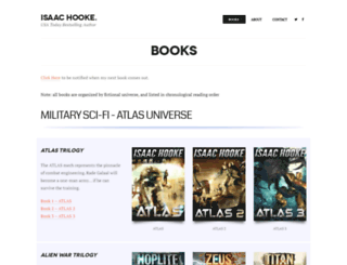 isaachooke.com screenshot