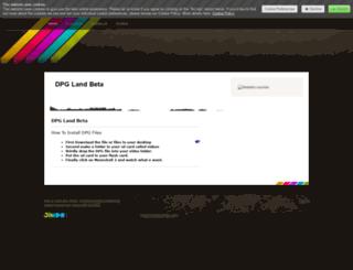 isaackoh.jimdo.com screenshot