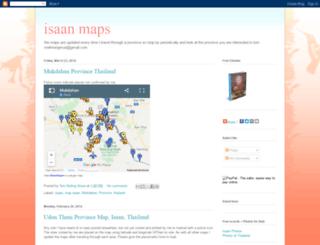 isaanmaps.blogspot.com screenshot