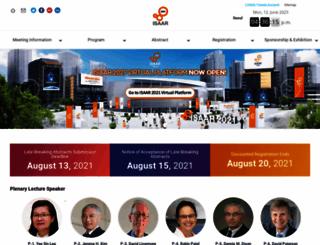 isaar.org screenshot