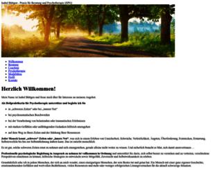 isabel-buettgen.de screenshot