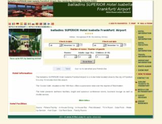 isabella-frankfurtairport.h-rsv.com screenshot