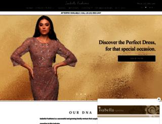 isabellafashions.com.au screenshot