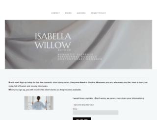 isabellawillow.com screenshot