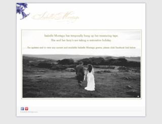 isabellemontagu.com screenshot