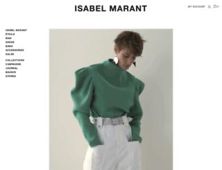 isabelmarant-official.com screenshot