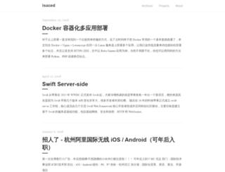 isaced.com screenshot