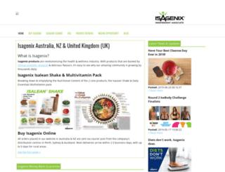 isacleanse.com.au screenshot