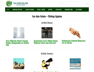 isadanislam.com screenshot