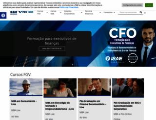 isaebrasil.com.br screenshot