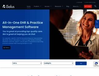 isalushealthcare.com screenshot