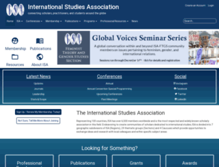 isanet.org screenshot