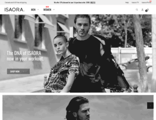 isaora.com screenshot