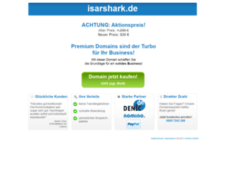 isarshark.de screenshot